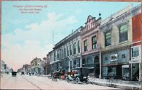 Santa Ana, CA 1910 Candy Advertising Postcard: Dragon Confectionery Co./Downtown