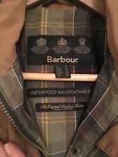 Barbour Womens Green Jacket Coat In Size 12