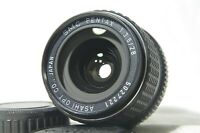 SMC Pentax 28mm F/3.5 MF Wide Angle Prime Lens SN5027221 for K Mount from Japan