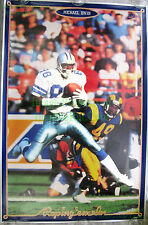 Vintage NIKE Football Poster 5332 ROPING 'EM IN ☆ Michael Irvin ☆ Dallas Cowboys