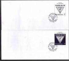 Philippines 2011 St. Stephen's 45th Anniv. Postal Envelope 2 different FDC