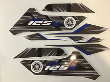 YAMAHA WR 125 WR125X 2014 Decal kit 9 Piece Quality aftermarket Vinyl Graphics.