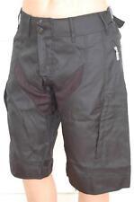 MTB Cycling Bike Shorts Black Tough Heavyweight Water Resistant S M L XL XXL