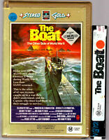 RARE VHS THE BOAT Big Box Clamshell Ex-Rental Video Tape Stereo Gold RCA Hoyts