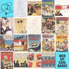 """Carl Barks Postkartenset - 18 Postkarten aus: """"Die Ente ist Mensch geworden"""""""
