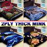 *NEW* 2 ply Thick Plush Super Soft Luxury Winter Mink Blanket Queen 5 Diamond