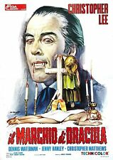 Scars of Dracula (2) Christopher Lee - Hammer Horror - A4 Laminated Mini Poster