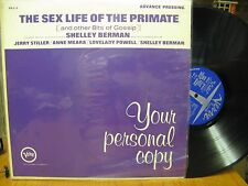 Shelley Berman Sex Life of the Primate LP Verve VDJ-5 Promo Mono Stiller Meara