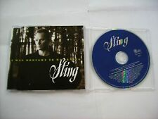 STING - I WAS BROUGHT TO MY SENSES - CD SINGLE LIKE NEW CONDITION 1996