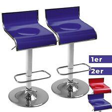 Barhocker Barstuhl Tresenhocker Küchenhocker Hocker Lehne Höhenverstellbar Set