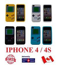 Iphone 4 4S 4G 4GS Funda de teléfono de la suerte silicio Gameboy Game Boy cubierta para Apple! nuevo!