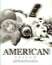 American Psycho Limited Edition Digipak w/Lenticular SlipCover (Region A Korea)