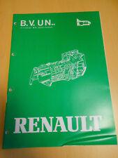 manuel réparation boite de vitesses UN RENAULT 25 / master
