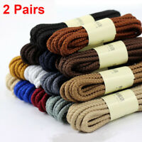 Leather laces for moccasins flat brown 4.0 mm wide 2.6 mm thick 100 cm long
