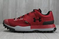 41 Mens Under Armour Newell Ridge Low GTX Gore-Tex Red Shoes 9 10 13 1287341-630