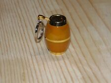 Beer Keg Shaped Butane Lighter With Key Ring Wine Barrel USA Stocked And Shipped
