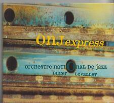 ORCHESTRE NATIONAL DE JAZZ  DIDIER LEVALLET  CD  ONJ EXPRESS