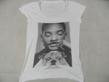 Eleven Paris Life is a joke Décontracté Shirt Will Smith Blanc Taille S Top mds219