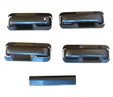 2015-2019 Ford F150 Crew Cab Painted Gray J7 Door Handle Covers+Tailgate Cover
