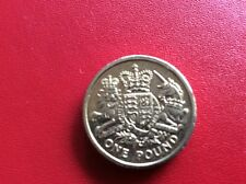 2015 £1 COIN ROYAL COAT OF ARMS THE LAST CIRCULATED POUND