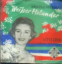 """7"""" Gitta Lind & Die Telstars/Weißer Hollunder"""