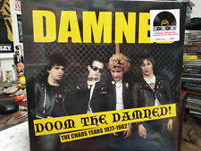 THE DAMNED - Doom The Damned Chaos Years 1977-1982 LP Punk Love Song Smash it up