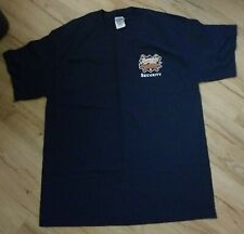 Worcester Tornadoes 2005 Inaugural season 'Security' T-Shirt men's size-Large