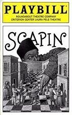 "Bill Irwin ""SCAPIN"" Kristin Chenoweth / Mary Bond Davis 1996 Preview Playbill"