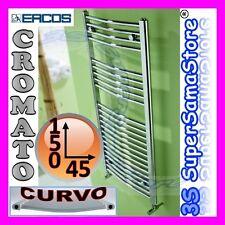 3S SCALDASALVIETTE CROMATO CROMO CURVO TERMOA 150 x 45 interasse 40 TEKNO ERCOS