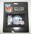 NFL NWT PRINTED TRI-FOLD NYLON WALLET - PHILADELPHIA EAGLES
