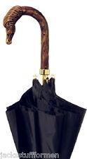 Concord Cavallo Horse Handle Handcrafted Mens Black Umbrella