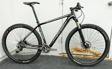 "NEW: 19"" 29er Carbon Fiber XC Racing Bike, full Shimano XTR, Rockshox Reba 100mm"