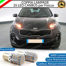 COPPIA LAMPADE PY21W BAU15S CANBUS 3.0 35 LED KIA SPORTAGE 4 QL FRECCE ANTERIORI
