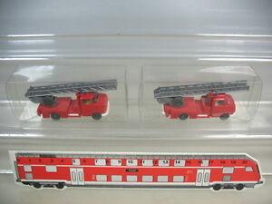 K954-0, 5 #2x wiking H0 Opel Blitz Fire Department Wagon Fw , 602, Top