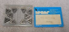 ISCAR   CARBIDE INSERTS    TNMG 322 E   GRADE  IC70   PACK OF 9