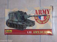 Maquette HELLER 1/35ème AMX30 AUF1
