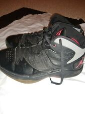 Jordan Fly Wade Black/Varsity Red/Grey Basketball Shoes Size 11 429486-002 RARE