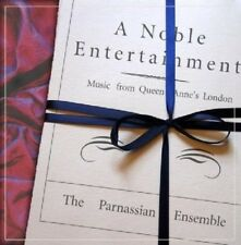 THE PARNASSIAN ENSEMBLE - A NOBLE ENTERTAINMENT-MUSIC FROM QUEEN ANNE'S  CD NEW!
