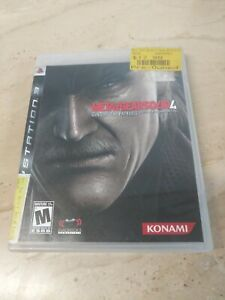 Metal Gear Solid 4 Guns Of The Patriots PlayStation 3 PS3