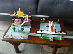 Vintage Lego Legoland Town 6399 Airport Shuttle Monorail Working