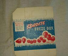Vintage Kordite freze box