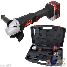 18V Volt 115mm Cordless Angle Grinder + 1 Battery + Carry Case