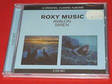 Roxy Music Avalon Siren 2CD