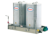 Piko HO Scale 61121 Classic Line Shell Storage Tanks Tall, Building Kit (HO-Scal