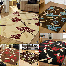 Quality Floral Flower Design Thick Soft Clearance Discount Sale Jasmine Rug Mat