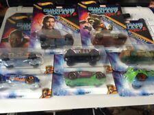 Hot Wheels Guardians of the Galaxy Vol.2: Set of 8 Collectors Diecast Cars