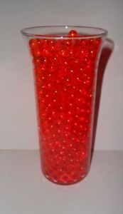 DECO BEADS ROUND LIQUID GEL MARBLES CLEAR & COLORFUL DECORATIVE VASE FILLER