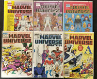Official Handbook of the Marvel Universe Deluxe, Master Edition HUGE 41 book lot