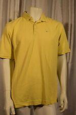 Men's Nike Golf DRI-FIT sz. Medium Yellow SS Polo Shirt