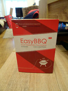 BNIB NEW iPhone Smartphone Wireless BBQ / Kitchen Thermometer - 6 Colour Probes